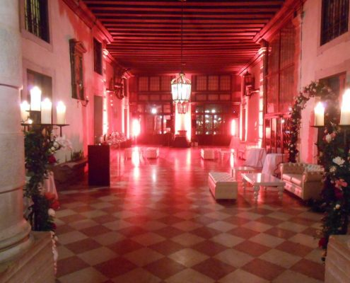 Wedding dj in Venice palace